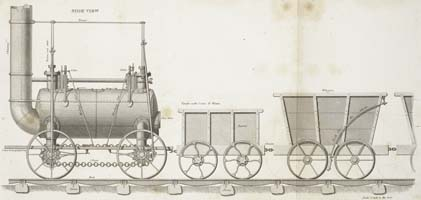Stephenson's Patent Locomotive Engine