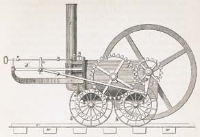 Trevithick's Tramroad Locomotive